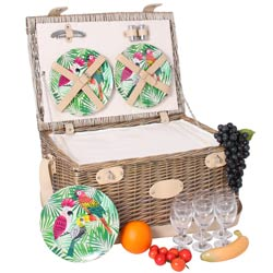 "Picknickmand "" Bel Air"" - 6 personen"